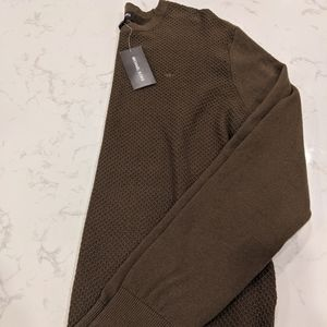 Olive green CK sweater